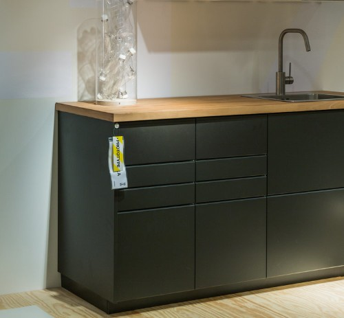 These new Ikea cabinets are made from recycled plastic bottles