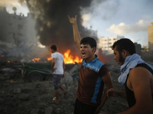 The West Bank Erupts In Palestinian-Declared 'Day Of Rage'