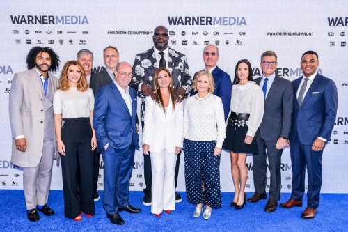 WarnerMedia execs presented at the company's first big upfront