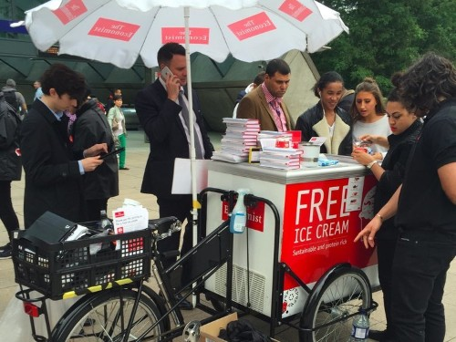 We tried the bug-filled ice cream that The Economist says is the future of food — here's the verdict