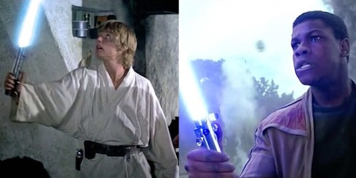 A fan created an awesome video to show 'The Force Awakens' is really just 1977's 'Star Wars'