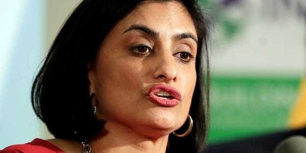 Report: Seema Verma requested taxpayers reimburse $47,000 in jewelry - Business Insider