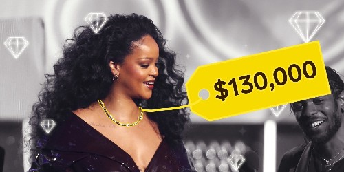 Chocolate diamonds weren't always valuable. Here's how they went from cheap rocks to adorning Rihanna's $130,000 Grammys necklace.