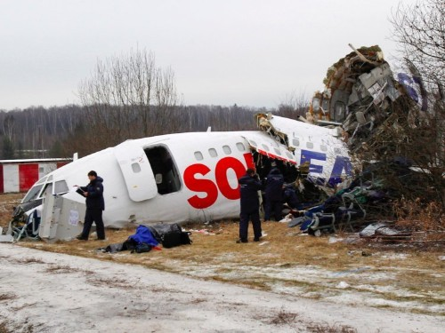 Russia's Tu-154 plane has been plagued with accidents even before its deadly crash into the Black Sea