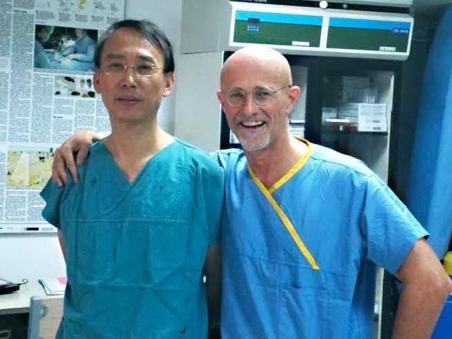 A surgeon aiming to do the first human head transplant says 'Frankenstein' predicted a crucial part of the surgery