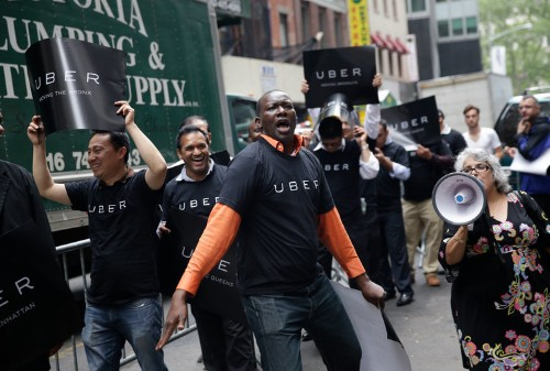 Uber and Lyft drivers are striking in over a dozen cities around the world on Wednesday. Here's the full list of where demonstrations are planned.