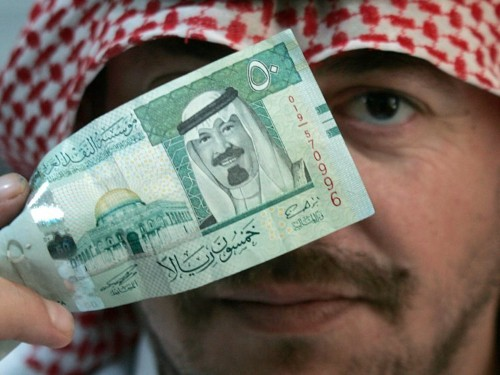 Hedge funds are betting against Saudi Arabia's currency