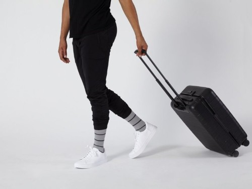 These stylish compression socks are perfect for sitting at a desk all day, traveling, or working out