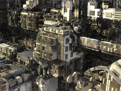 These dystopian cityscapes were all designed by a computer program