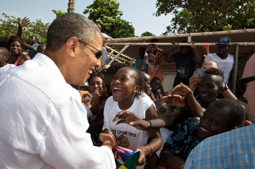 30 Incredible Images Of Barack Obama's First Extended Trip To Africa As President