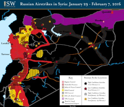 Support in Russia for Syria strikes drops double digits to 59 percent