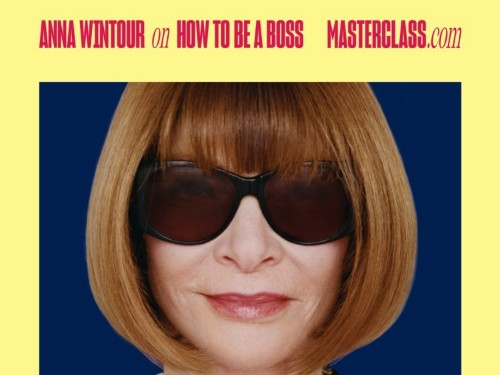Anna Wintour stars in tech startup MasterClass's first campaign