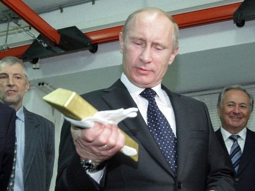 Russia is hoarding gold at an alarming pace