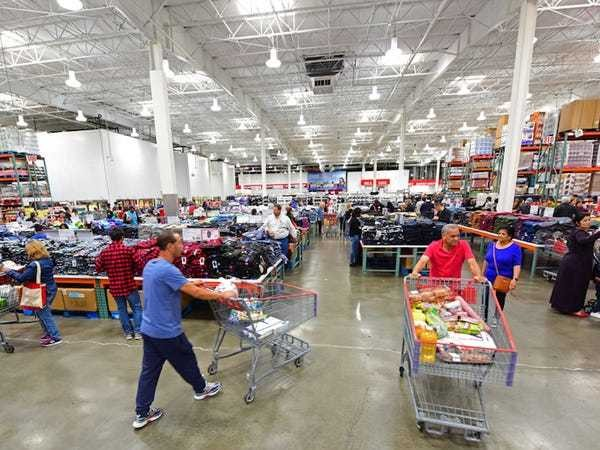 Costco store layouts are confusing by design - Business Insider