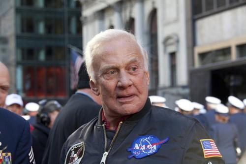 Buzz Aldrin, more celebrate Apollo 11 moon landing 50th anniversary
