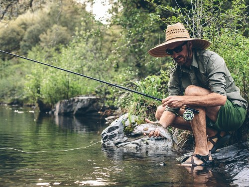 REYR First Cast Fly Fishing Rod review: telescopic, lightweight rod