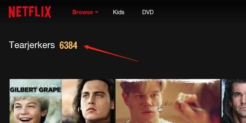 How to find Netflix's secret categories