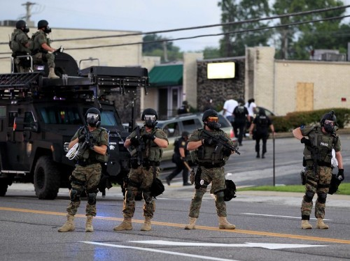 This Is The Terrifying Result Of The Militarization Of Police