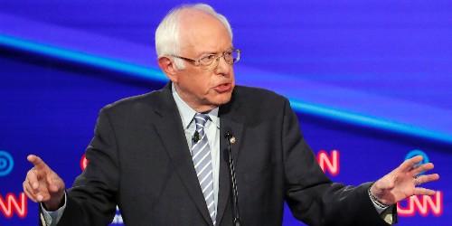 Bernie Sanders insists he's not 'on' marijuana at Democratic debate - Business Insider