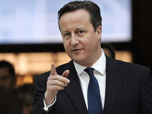 David Cameron is becoming annoyed by a billionaire who keeps telling him the truth