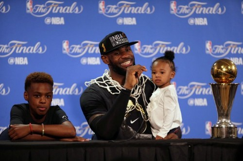 LeBron James is getting into the podcast game
