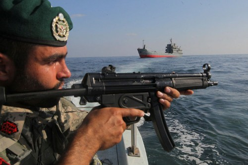 As Tensions Rise In Middle East, Iran Claims To Have Overhauled A Warship