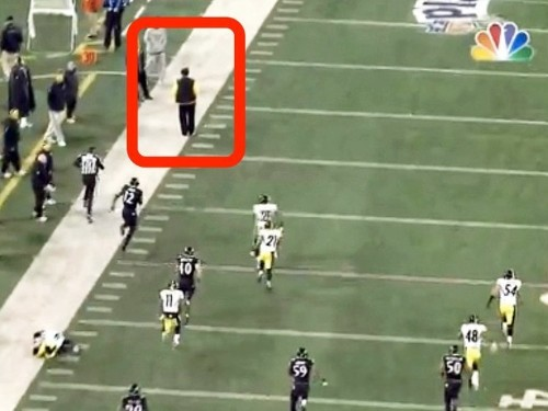 Pittsburgh Steelers Coach Fined $100,000 For Preventing A Touchdown By Standing In The Way