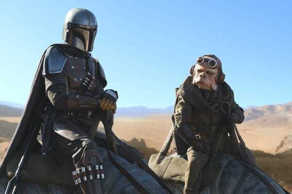 'The Mandalorian' on Disney Plus is the top TV show in the world - Business Insider