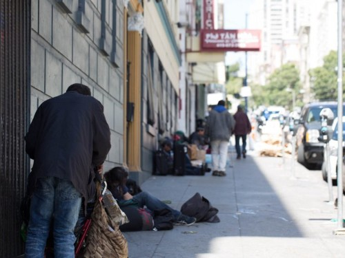 San Francisco's homeless population has swelled by 17% in two years