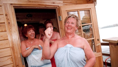 Research shows that frequent visits to Finnish saunas could make you live longer - and a long list of other health benefits
