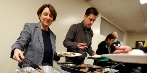 2020 candidates' campaign trail comfort food: whiskey, veggies, cupcakes