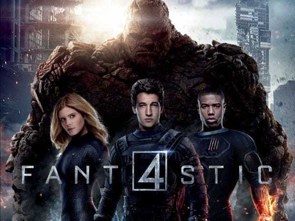 """Does the world want """"Fantastic Four"""" to fail? - Business Insider"""