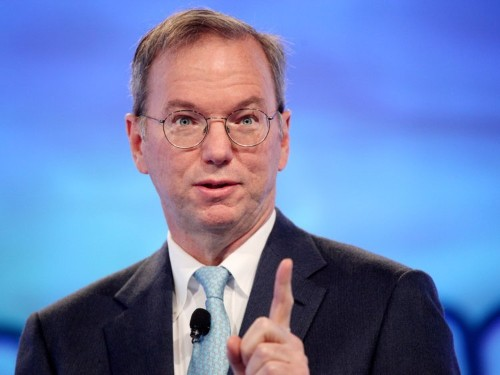 These are the future tech products that Alphabet's Eric Schmidt thinks will change the world