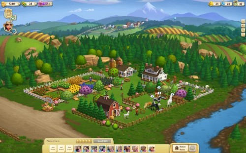FarmVille developer Zynga is on its way to record revenue as the company continues to dominate mobile gaming