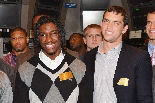 Andrew Luck's 2012 NFL draft had a lot of big-name QBs taken