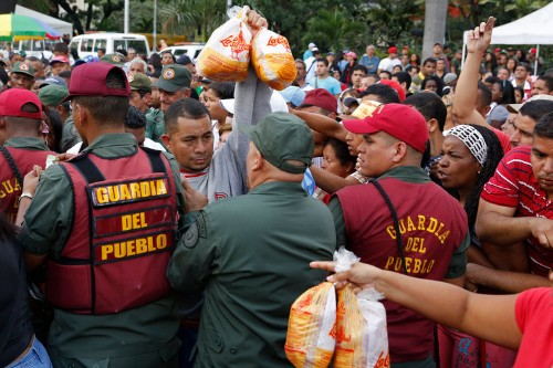 Venezuela's inflation rates are now highest in the world, sending food prices through the roof
