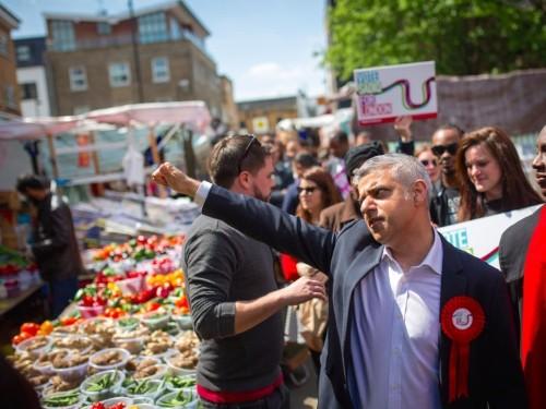 LABOUR'S SADIQ KHAN IS THE NEW MAYOR OF LONDON