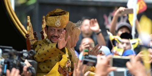 500 Rolls Royces, $20,000 haircuts, and a 1,788 room palace: Everything we know about the lavish life of the Sultan of Brunei, who sparked outrage after introducing a law punishing homosexuality with death