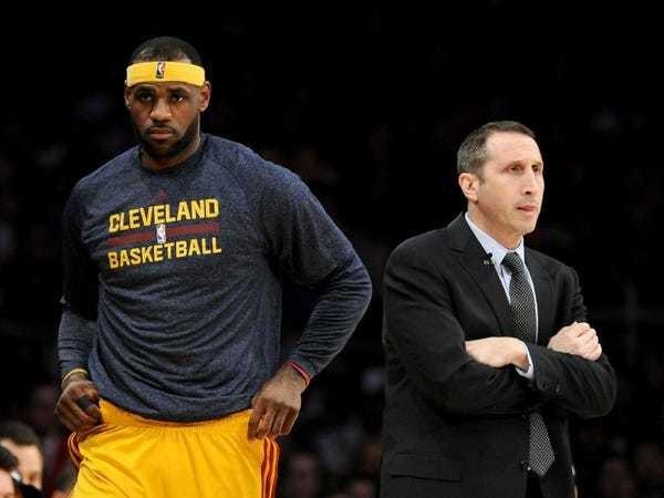 LeBron, David Blatt relationship turned ugly in NBA Finals - Business Insider