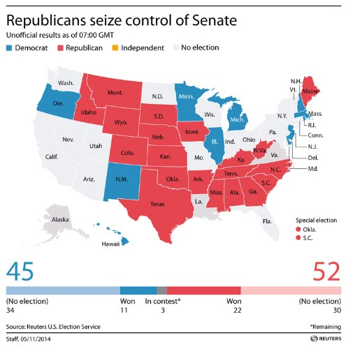 These Maps Show How Devastating Election Day Was For Democrats