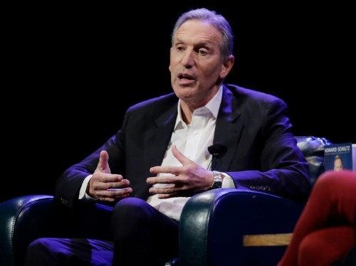 Former Starbucks CEO Howard Schultz reveals his favorite question to ask a candidate in a job interview