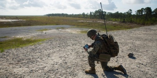 Marines can now coordinate artillery, mortars, and naval gunfire with one handy tablet