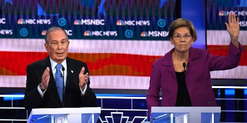 Elizabeth Warren tore into Bloomberg at the Democratic debate for linking the end of a discriminatory housing practice to the 2008 financial crisis   Markets Insider