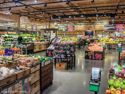 Price comparison: Whole Foods, Wegmans, Shoprite