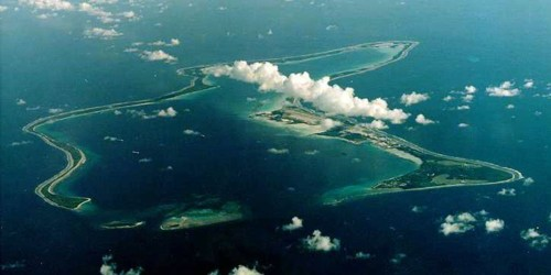 Photos: Secretive Diego Garcia air base that US was told to vacate