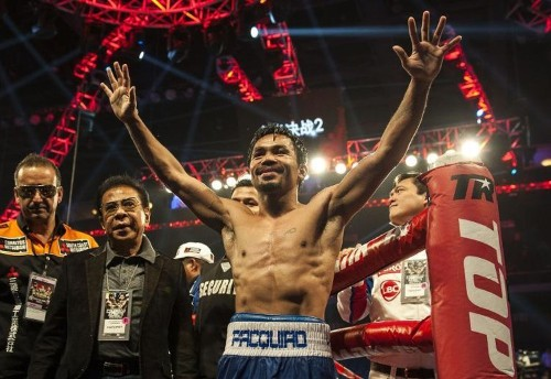 Pacquiao sees fist of God delivering win over Mayweather