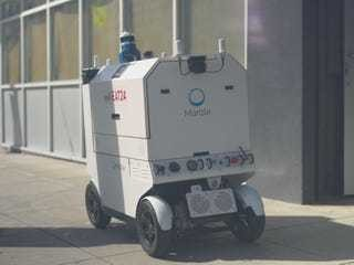 Self-driving robot developed by Apple and Google alum can deliver food right to your doo... - Business Insider