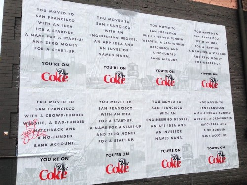 Diet Coke Is Targeting San Francisco Techies With Tone Deaf Ads