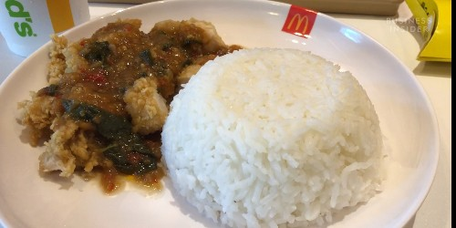 We tried the McDonald's menu items you can only find in Thailand