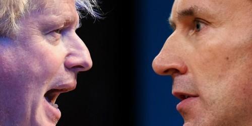 Jeremy Hunt calls on 'coward' Boris Johnson to 'man up' and agree to TV debates